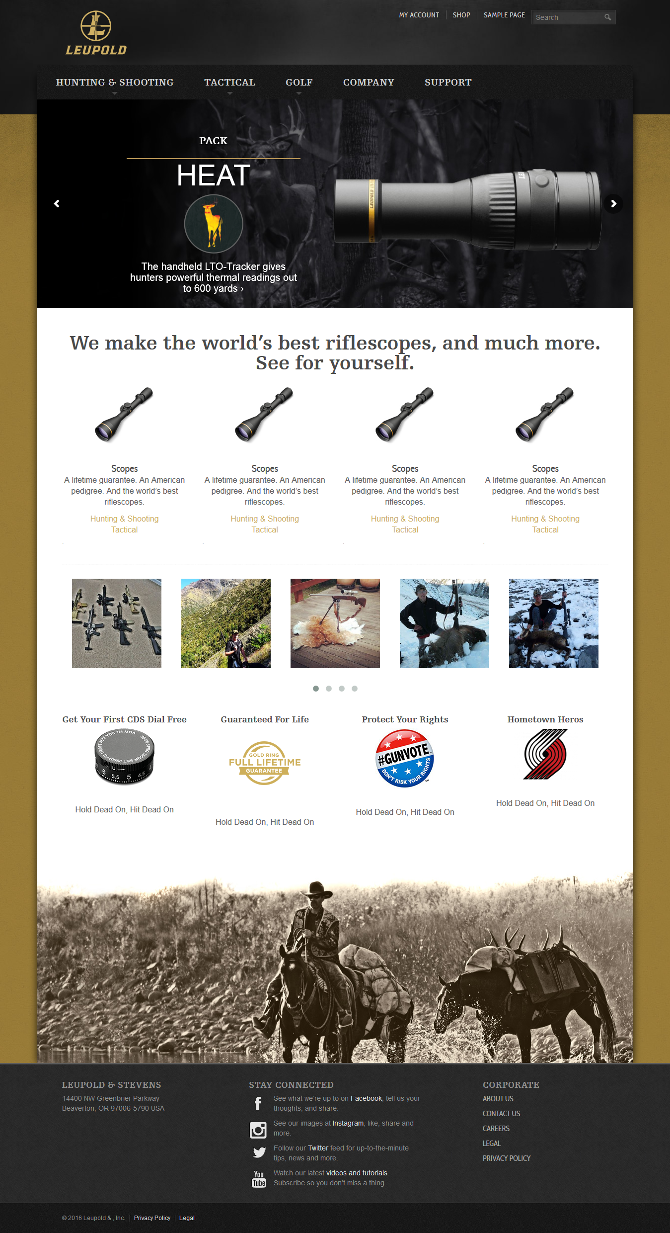 www leupoldoptics uk - Leupoldoptics wordpress project